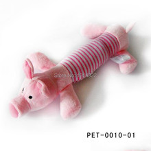 Dog Chew Toy | Squeaky Duck, Pig & Elephant Toy