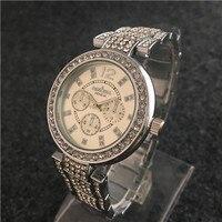 Silver Watch Women Watches Men Luxury Brand Binger Mechanical Pocket Orologi Militar Curren Montres Homme Grande