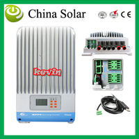 Solar Charge Controller MPPT 60A,LCD MPPT charger controller solar panel battery Light and dual timer 12V 24V 36V 48V
