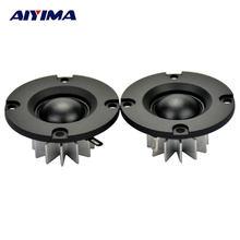 AIYIMA 2 pièces Mini 2 pouces Audio haut-parleurs portables 50MM 6 ohms 15 W HIFI Tweeter son haut-parleur ABS givre panneau haut-parleur