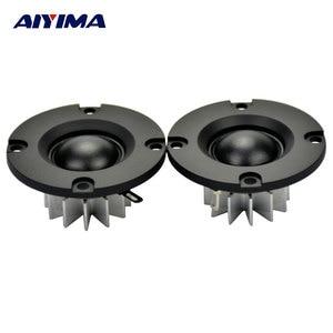 AIYIMA 2Pcs Mini 2Inch Audio Portable Speakers 50MM 6 ohm 15 W HIFI Tweeter Sound Speaker ABS Frost Panel Loudspeaker