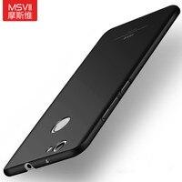 MSVII Brand Huawei Nova 5 0 Phone Cases Silm Silicone Scrub Cover For Huawei Nova Back