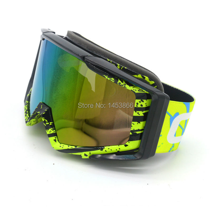 Motocycle Sunglass Goggle Protective Gears Flexible Motorcycle Glasses Motocross MX Tinted UV400 Skiing Snowboarding OTG Goggle