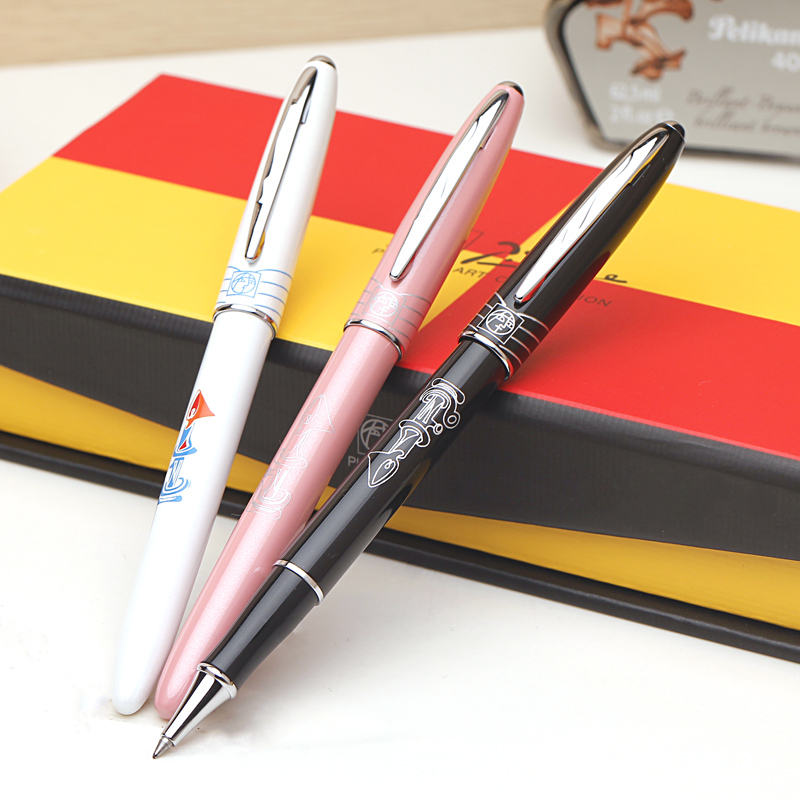 Durable Ballpoint/Rollerball/Sign pen Picasso 606 Office Stationery Dove of Peace New Gift Pens Free Shipping