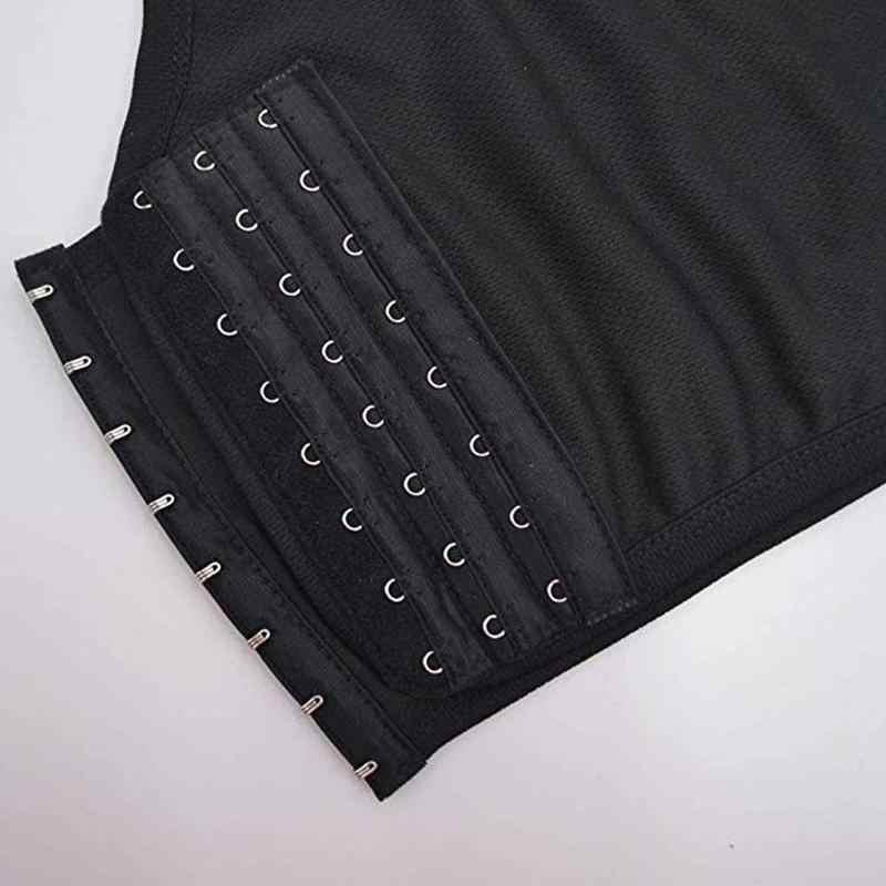 Camiseta interior para lesbianas de Les Tomboy con hebilla transpirable, camiseta de verano con sujetador Cos, ropa interior deportiva, chaleco deportivo cómodo