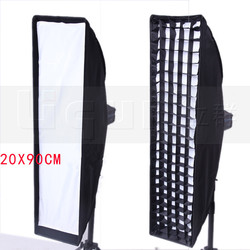 20*90cm softbox with grill  light box with grille softbox  CD50