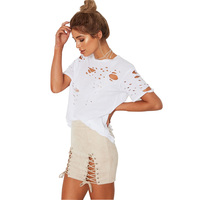 Summer 2017 New Fashion Women Solid Color Stretch High Waist Pack Hip Bandage Cross Skirt Women A-Line Skirts HD105