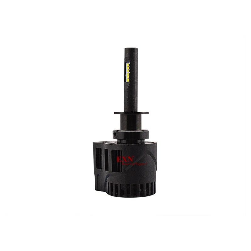 Высокое качество 2x90 Вт 9000LM H1 светодиодный головной светильник комплект светильник 6000K белый P6 светодиодный налобный фонарь лампы H1 высокое Мощность H3 H7 H8 H11 в наличии - 6