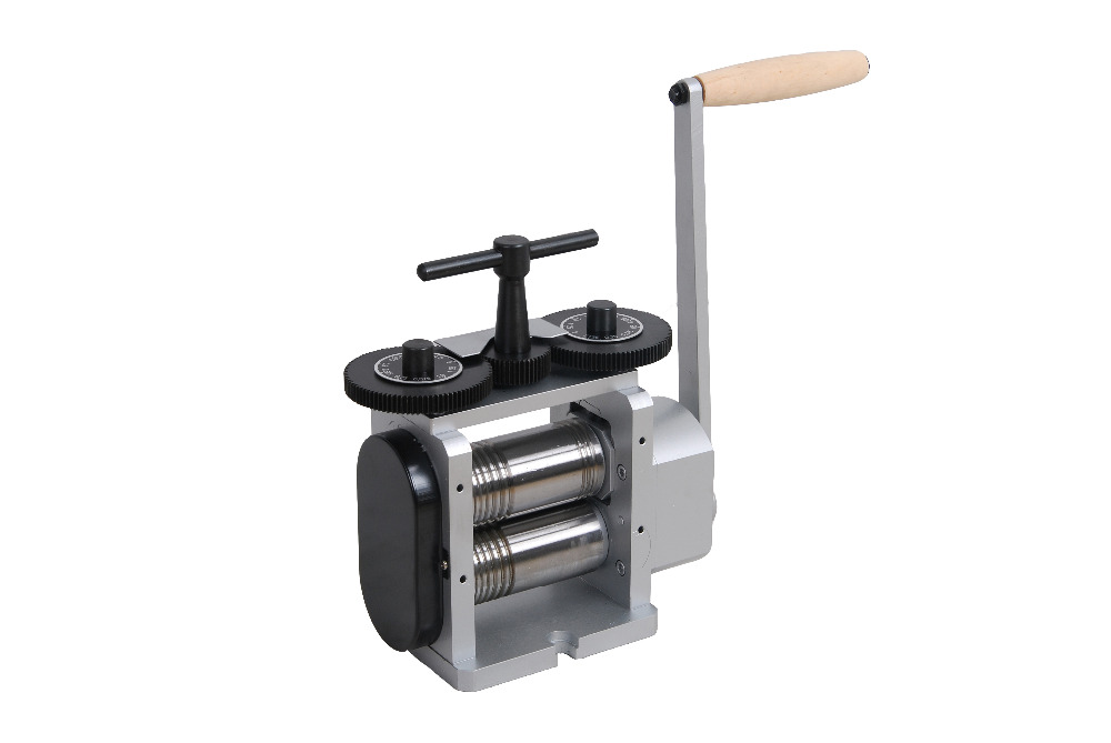 Flat Square & Half Round Combination Rolling Mill 110 mm Jewelry Tools - 2