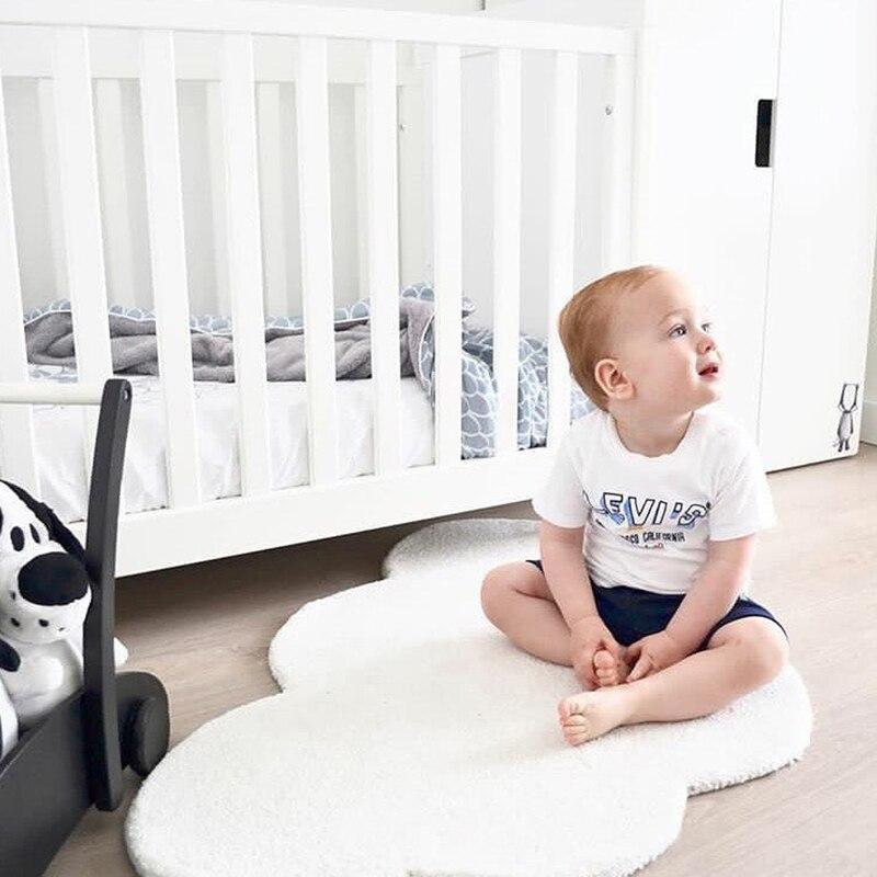 Bébé nuage tapis de jeu coton tapis de jeu enfants bébé tapis jeux Gym activité nouveau-né ramper tapis photographie fond chambre décor