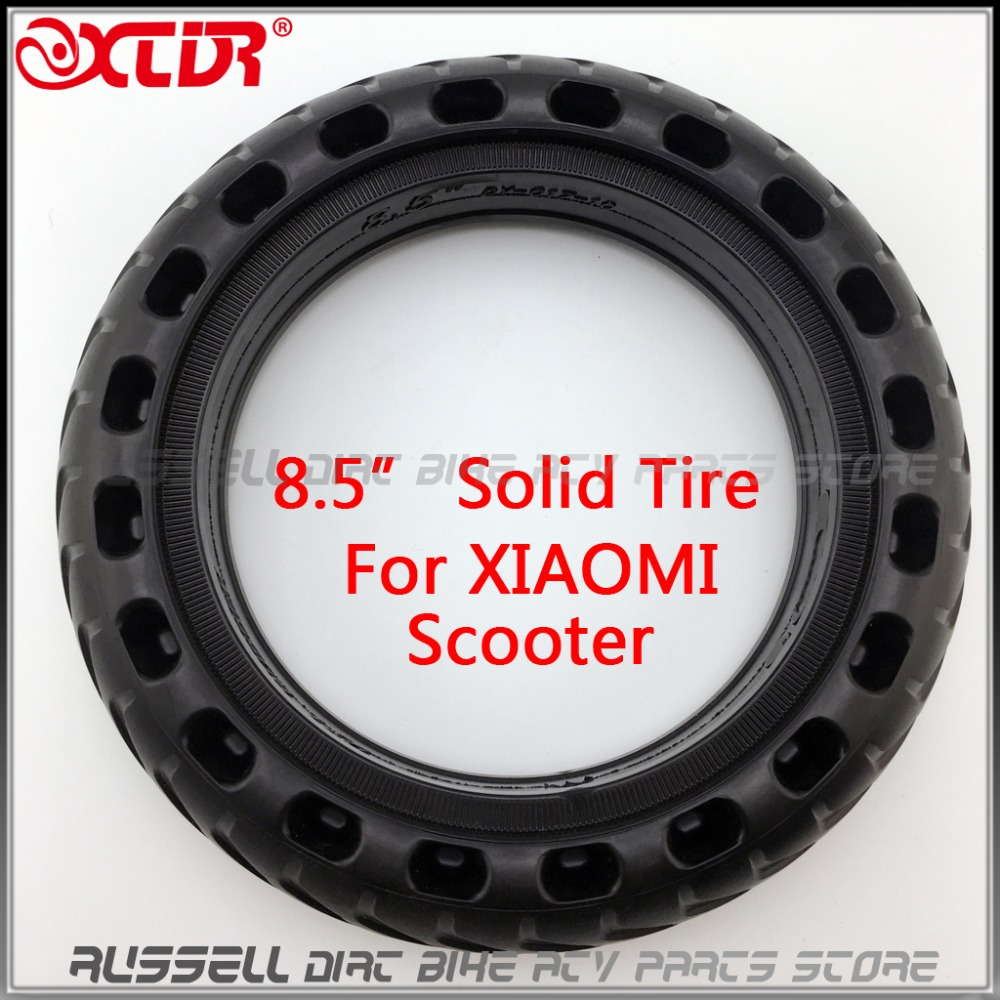2019! Solid Tyre Tire 8.5 Inch Damping Scooter Hollow Custom For Xiaomi Mijia M365 Skateboard Scooter Tyre Wheel Rubber Tyre Promote The Production Of Body Fluid And Saliva