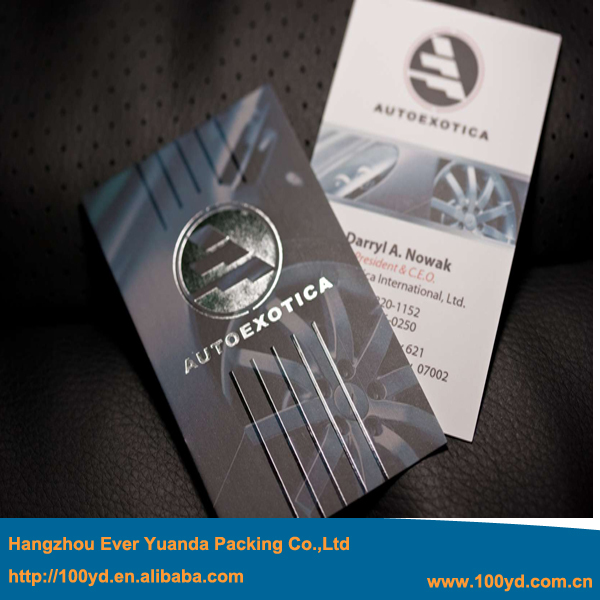 High quality Custom Print Visit card Name card Hot foil Silver Stamping Business cards 600gsm Art paper CMYK/Full color Printing hot sale custom uv led printer print on business card