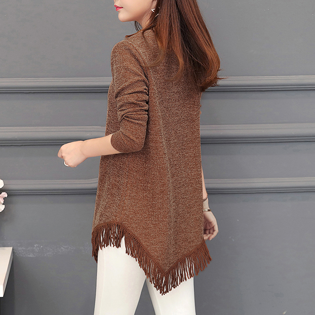 Autumn Winter Top Femme Vintage Tassel Tunic Blouse Women Korean Fashion Plus Size Long Sleeve Female Blouse Shirt Blusas Mujer 4