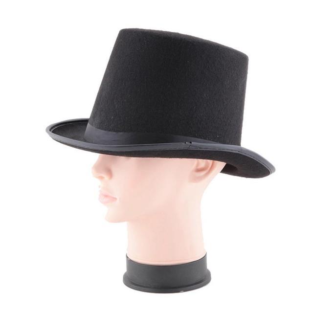 756ed76d3aa VOT7 vestitiy Adult Womens 16 18 20cm Felt Witch Hat For Halloween Costume  Accessory Aug 23