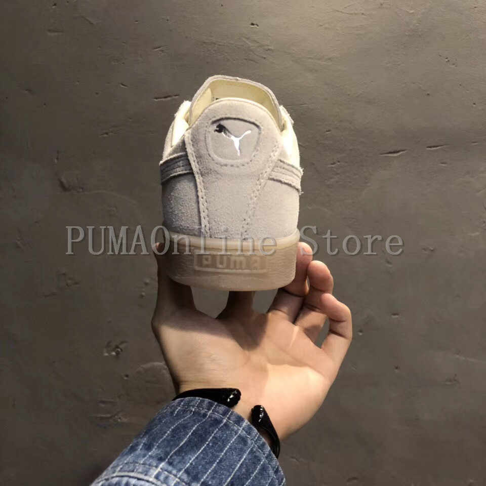 21aae21e988 ... Original PUMA Womens Suede Classic Mono 3M Jelly Men s Beige Color  362101-09 Badminton Shoes ...