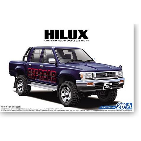 1/24  HILUX LN107 4WD 94th Car Model 05228
