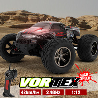 42km/h RC Car 1/12 2WD Control Remote Car Truck Big Wheel Off road Car rc Monster Truck rc toys for child best gifts