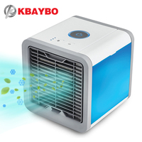 USB fan Portable Mini Air Conditioner cooling portable fan cool wind Desk Electric Fans air cooler fans for home bedroom office