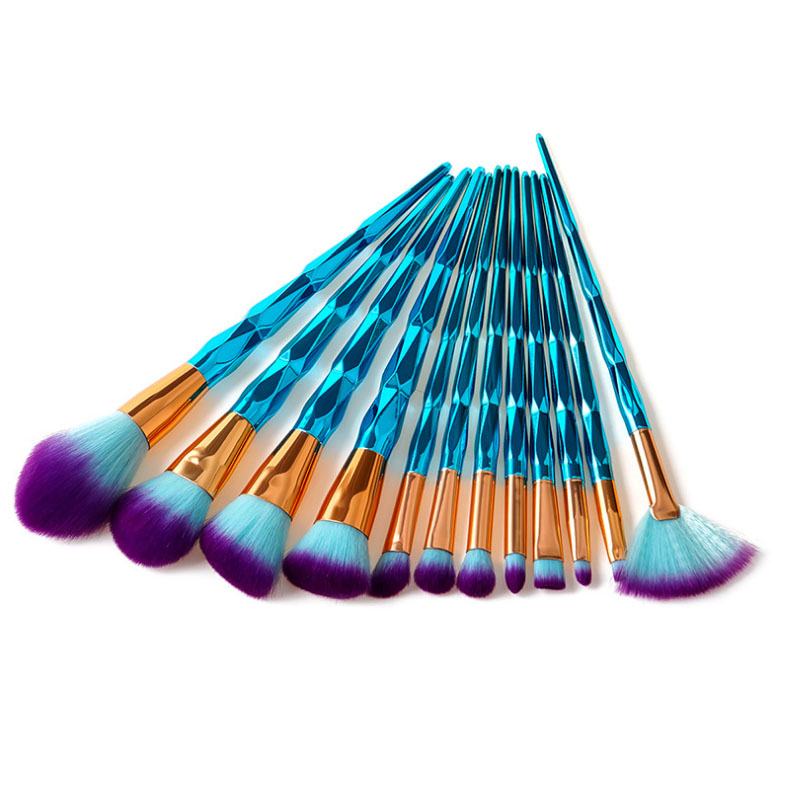 цены FOCALLURE 12pieces Makeup Brushes Set Make up Brush Tools kit Foundation Make Up Powder Foundation Eyeshadow Brush Beauty Tool