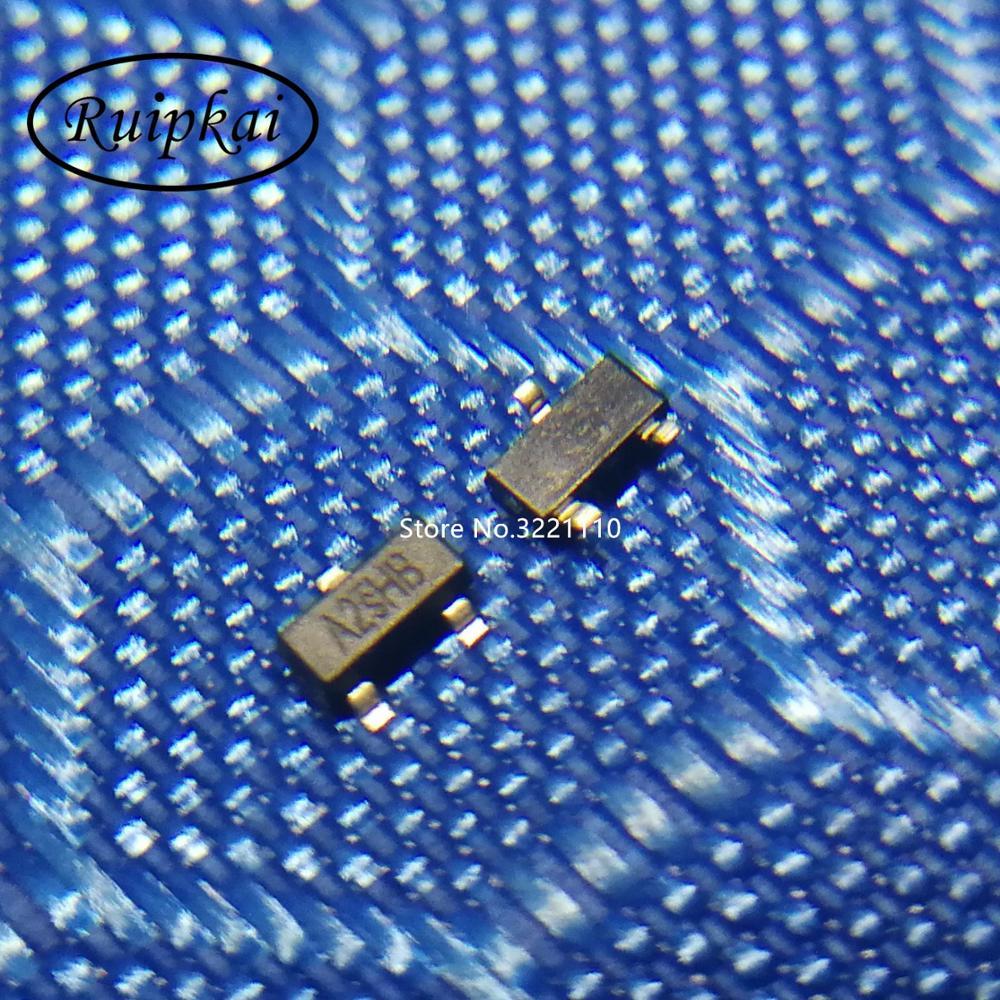 50PCS SI2302 A2SHB 2.5A//20V SOT-23 N-Channel MOSFET SMD Transistor