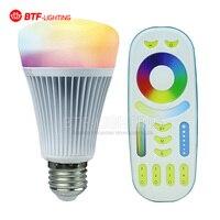 2 4G 4 Group 8W E27 RGBW LED Light Bulb Mi Light WiFi Controller 2 4G