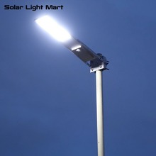 2017 New Alpha 2020X All in One 3 modes Motion Sensor Solar Powered LED Street Light