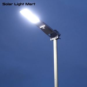Image 1 - Alpha 2020X กันน้ำกลางแจ้ง Motion Sensor Solar Powered LED POLE Wall Street Light สำหรับ Garden 3 โหมดการทำงาน
