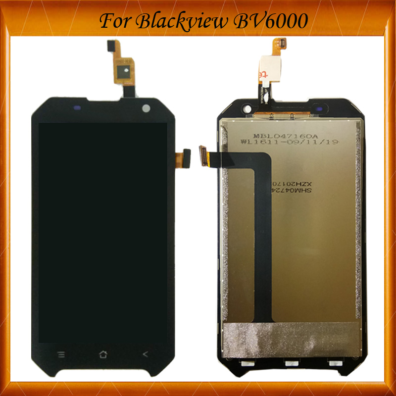 For Blackview <font><b>BV6000</b></font> <font><b>LCD</b></font> Display+Touch Screen 100% Tested OK Digitizer Assembly Glass Panel Replacement image