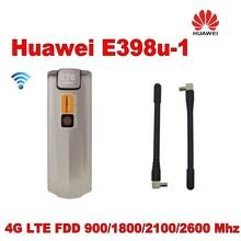 Unlocked Original HUAWEI E398 E398u-1 4G LTE TDD FDD 100Mbps USB Surfstick USB Wireless Modem + Free Shipping vodafone k5005 4g lte surfstick