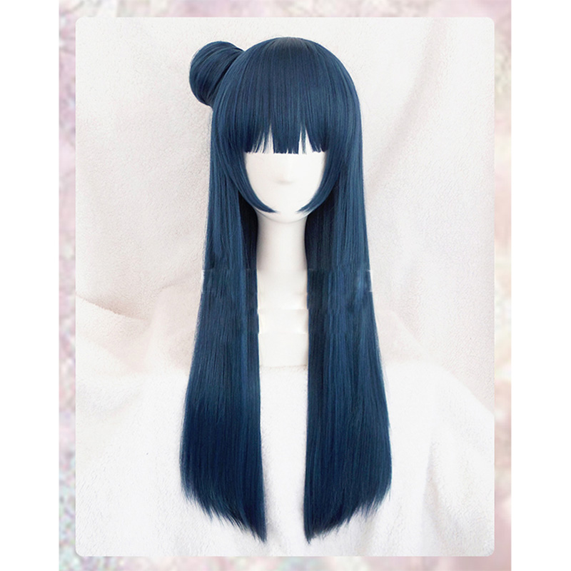 LoveLive Sunshine Tsushima Yoshiko wig Cosplay Costume Love Live Aqour Yohane Women Synthetic Hair Halloween Role Play wigs