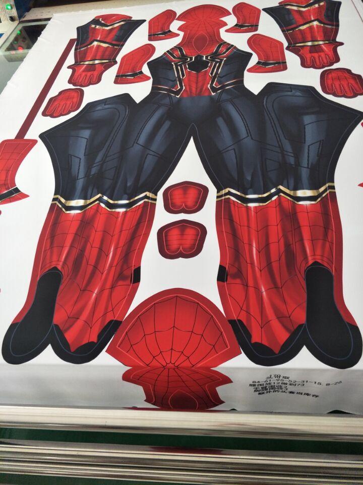 Гладить выпускников костюм Человека-паука Косплэй 3D печать Зентаи Железный Человек-паук фильмы костюмы Spidey гладить костюм Бесплатная дост...