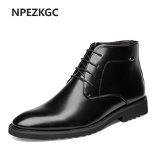 Autumn/Winter Men's Chelsea Boots,British Style Fashion Ankle Boots,high Quality Soft Leather Men Casual Shoes Boots