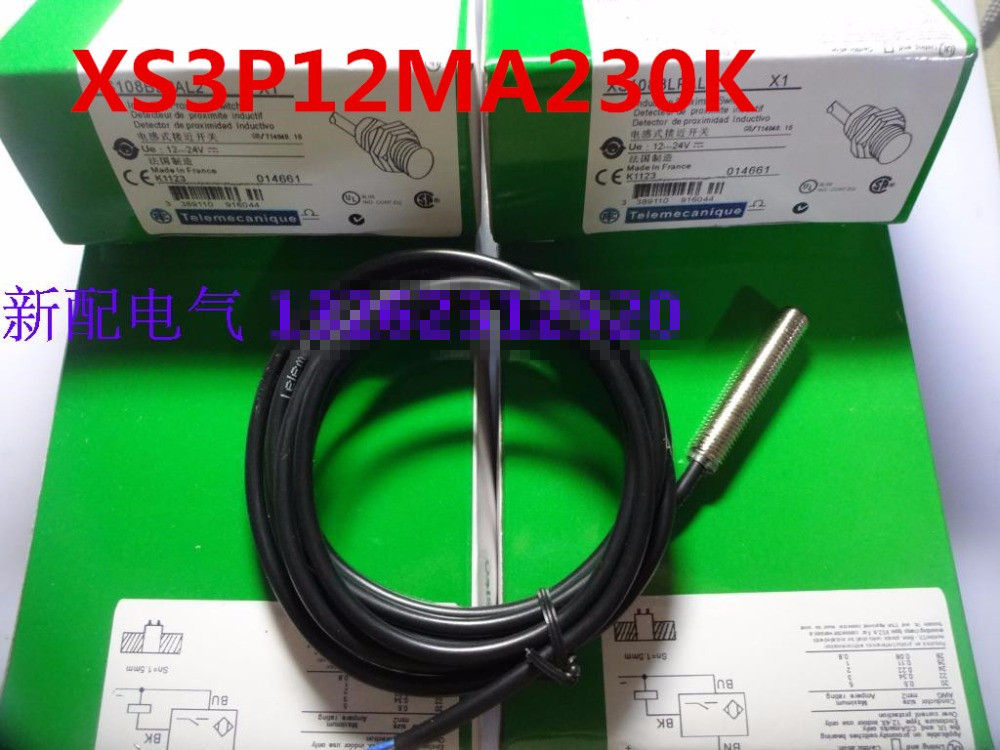все цены на Original new 100% special selling high precision new sensor XS3P12MA230K proximity switch