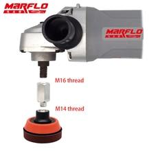 MARFLO M14 Rotary Lucidatore Albero di Estensione per Cura dell'auto Lucidatura Accessori di Strumenti di Auto Auto Detailing Piastra di Supporto Pad