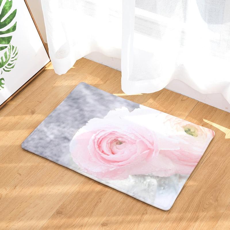 Image 5 - CAMMITEVER Lavender Dandelion Rose Cactus Rose Area Rug Kitchen Mat Entry Way Bath Doormat Bedroom Carpet Machine Washable-in Rug from Home & Garden