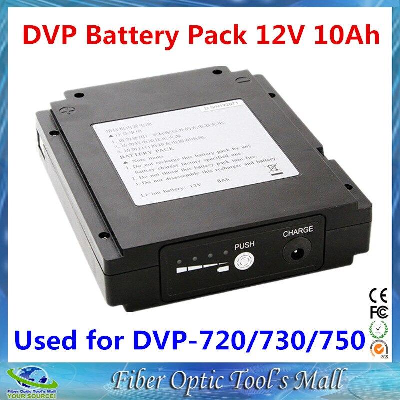 Цена за Бесплатная Доставка в Исходном DVP 730/730 H/750/720 Волоконно Оптические Fusion Splicer Аккумулятор 12 В 10Ah