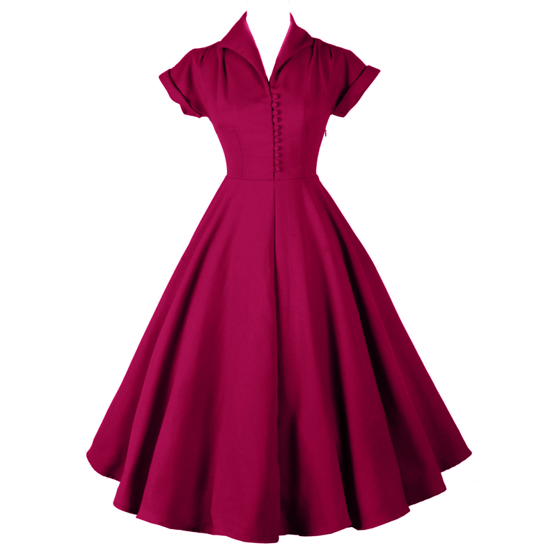 Online buy wholesale rockabilly style wedding dresses from for Vintage pin up wedding dresses