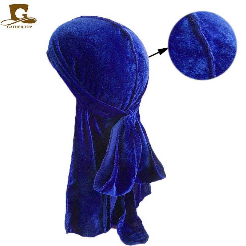 Unisex Hombres Mujeres Transpirable Bandana Sombrero de terciopelo - Accesorios para la ropa - foto 5