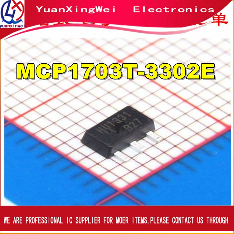 Free Shippin 10PCS/LOT  MCP1703T-3302E MCP1703T MCP1703 SOT-223