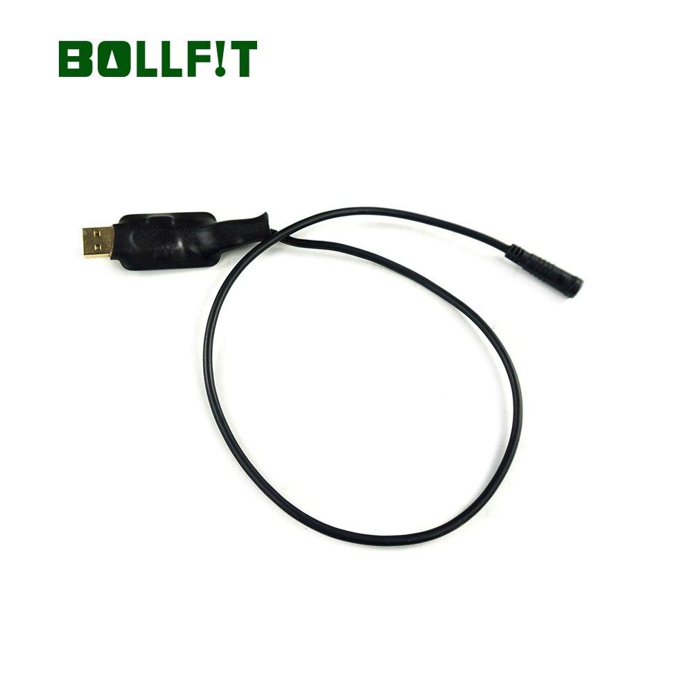 Bafang Mid zestaw do silnika części EBike kabel do programowania USB do BBS01 BBS02 BBSHD środkowy napęd centrum zestaw do konwersji silnika