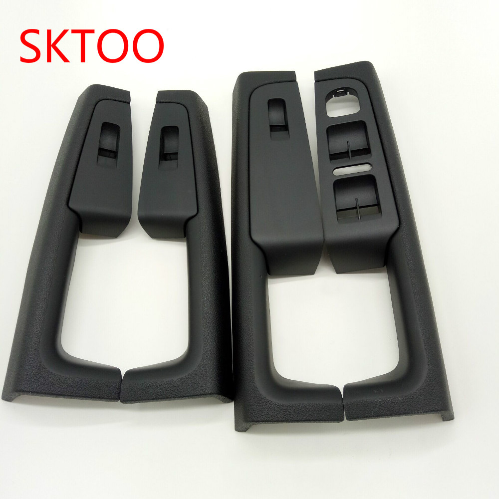 SKTOO (Black)For Skoda Superb Inner door handle door armrest, switch box inside the door of the glove package sktoo for great wall wingle 3 wingle 5 door handle outer handle of handle assembly black pockmark