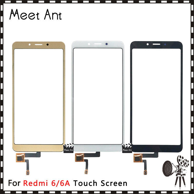High Quality For Xiaomi Redmi 6 6A / 5A Touch Screen Digitizer Sensor Outer Front Glass Lens Panel For Redmi 6 Pro / Mi A2 Lite