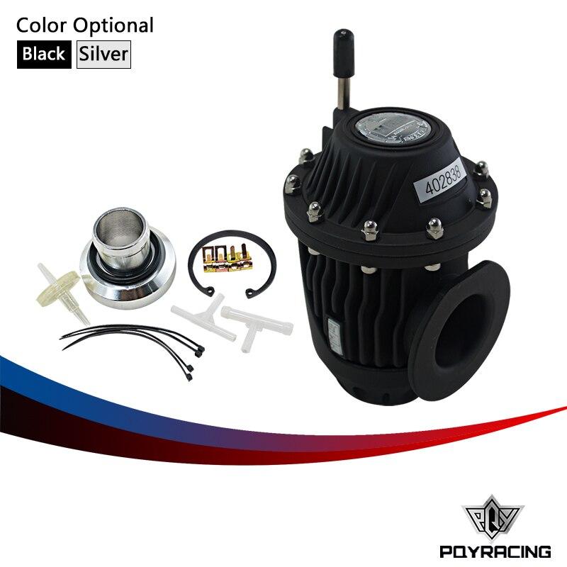 Prix pour PQY RACING-Racing UNIVERSAL BLOW OFF VALVE BOV SUPER SQV 4 IV SSQV 4 IV (noir ou Argent, reproduire) boîte de couleur D'origine PQY5730