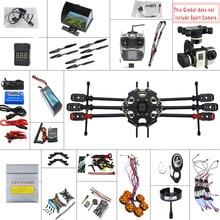 F07807-G JMT 2.4G 9CH 680PRO PX4 GPS 5.8G Video FPV RC Copter Full Kit RTF DIY RC Drone Combo MINI3D Pro Gimbal