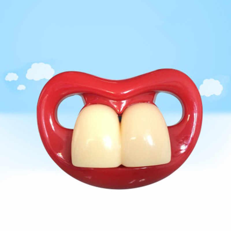 Еда класс силиконовые забавные детские Детские пустышки Прорезыватели для зубов соска малыша Ортодонтические пустышки соски подарок