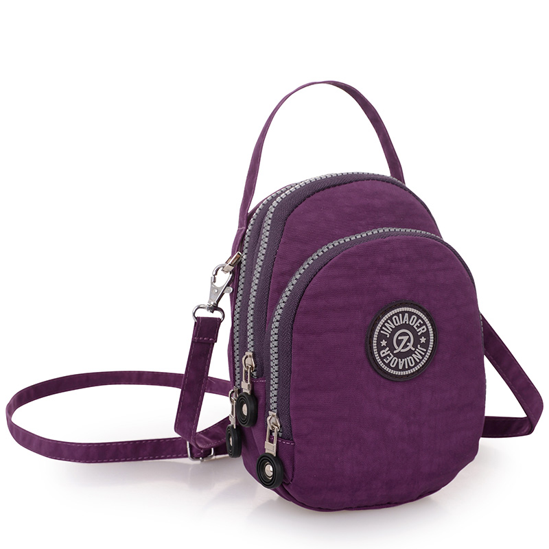 Purse Female Casual Nylon Waterproof Messenger Bags Shoulder Bags Female Satchel Bolsas Beach Small Travel Women Crossbody Bags