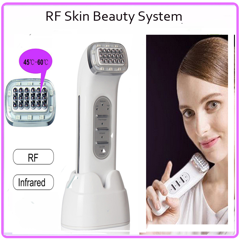 Mini Portable rf Thermage CPT Skin Rejuvenation RF Skin Sytem Beauty Facial Machine Tightening Free Shipping