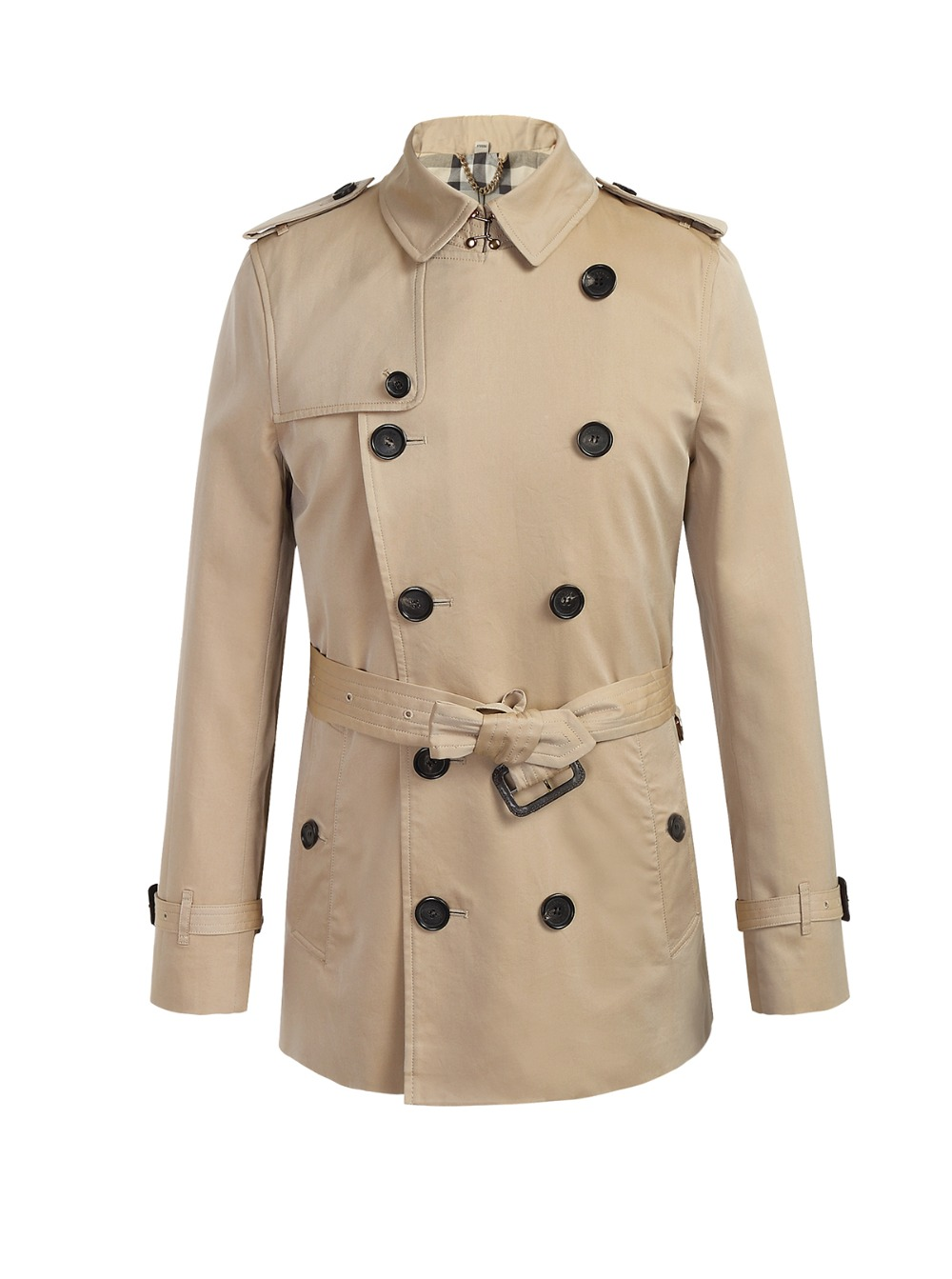 Online Buy Wholesale short trench coat men from China short trench ...