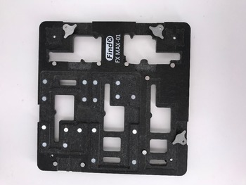 FX-MAX-01 fixture  Find Fix Circuit Board Jig Fixture PCB Holder for iPhoneX  XS MAX Motherboard A11 Chip Repair Tool Kit