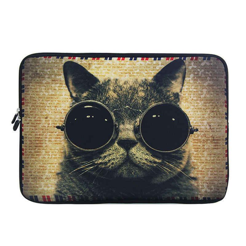 """Tiger Laptop Tassen Mouw Notebook voor Dell HP Asus Acer Lenovo Macbook 11 12 13 14 15 15.6 inch Soft Cover voor Retina Pro 13.3"""""""